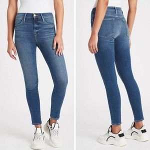 Frame Le High Skinny Packard Wash Sustainable